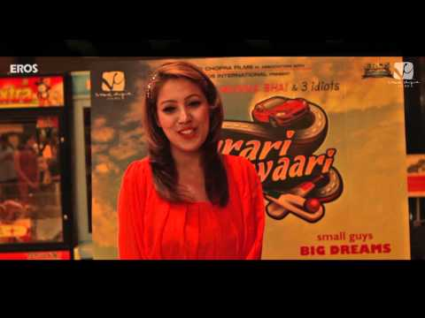 Ferrari Ki Sawaari - Star Review - Munmun Dutt video