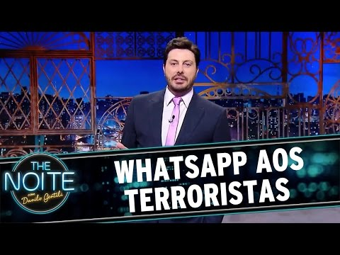 The Noite (29/04/16) Monólogo: WhatsApp aos terroristas