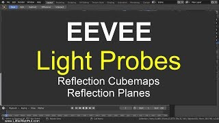 EEVEE Light Probes for Reflections: Blender 2.8 Tutorial