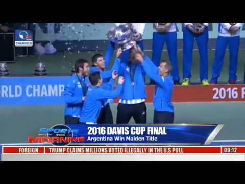 Sports This Morning: Argentina Beat Croatia To Win 2016 Davis Cup