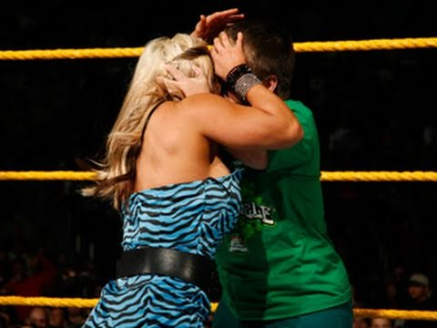 WWE NXT: NXT Rookie Diva Challenge - Kissing Contest, part one