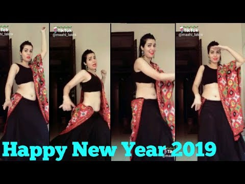 Happy new year 2019 musically tik tok videos||HAPPY NEW YEAR funny video popular viral dance
