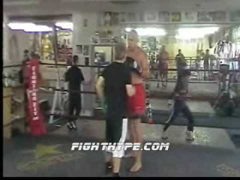 TITO ORTIZ TRAINS FOR MARK COLEMAN Image 1