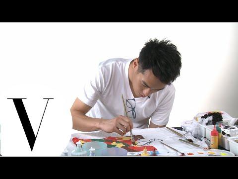 楊佑寧為 2014 VOGUE 全球購物夜製作T恤