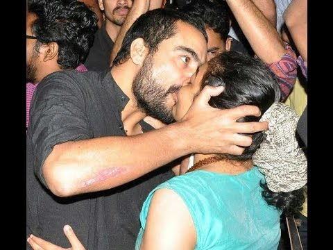 Mallu Actress Hotest Kiss Of Love In Hyderabad video