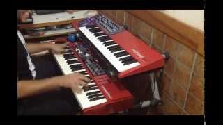 [DEMO] Nord Blues Jam - Nord Electro 4D - Hammond part
