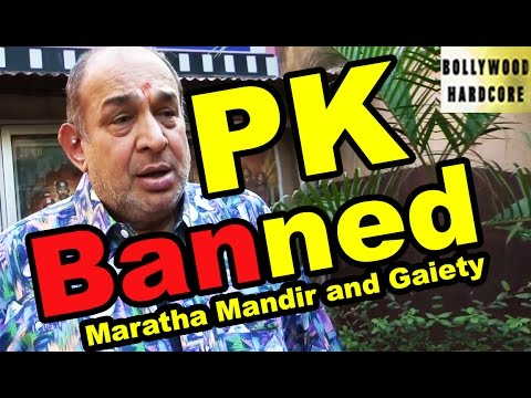 PK CONTROVERSY - Aamir's 'PK' Gets Banned by Maratha Mandir and Gaiety - Manoj Desai's Reaction