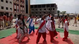 indipendence day dance at narayana  school