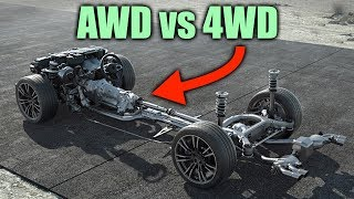 AWD vs 4WD - What