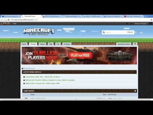 Minecraft Forum and Yogscast.com basic guide: Images, spoilers, adf.ly, videos, title changes