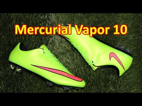 Nike Mercurial Vapor 10 Electric Green - Unboxing + On Feet