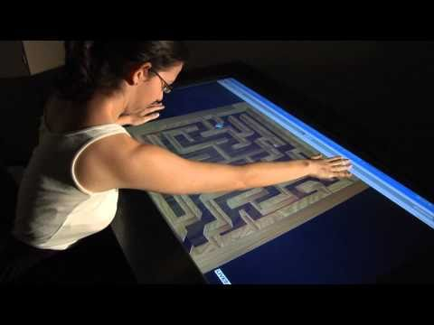 Maze Craze Game for TacTile Multi-Touch Display