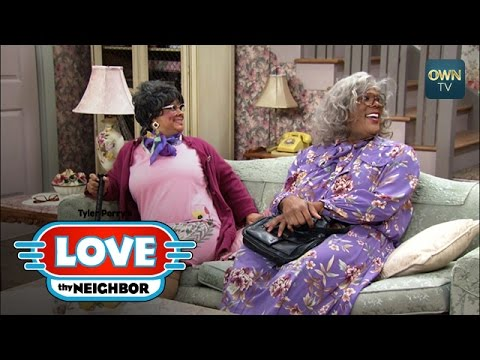 Madea And Hattie Outsmart Linda | Tyler Perry's Love Thy Neighbor | Oprah Winfrey Network video