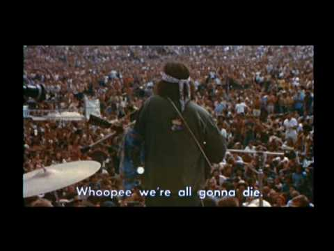 Country Joe McDonald live at Woodstock - YouTube