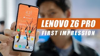 Lenovo Z6 Pro First Impression - $450 Flagship-Killer?