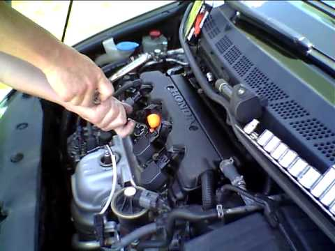 how to change spark plugs on subaru liberty 2010