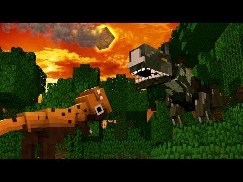 Minecraft Dinosaurs Jurassic Craft Modded Survival Ep 14 FISHING FOR DINOSAURS