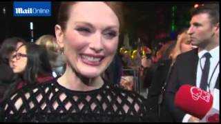 Julianne Moore on loosing her famous red...