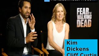 Fear the Walking Dead, Kim Dickens, Cliff Curtis, exclusive interview by Monsieur Hollywood, FTWD