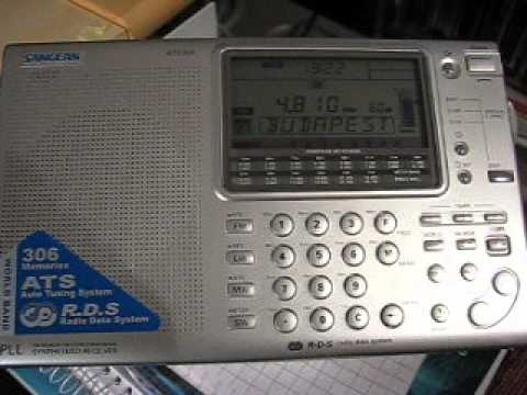 Shortwave Receiver Comparing Test Part 2 - Sangean ATS-909