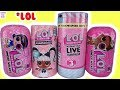 LOL Surprise DOLLS Series 4 5 HairGoals Under WRAPS Interactive LIVE Unboxing TOYS EYE SPY mp3