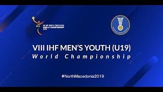 5/6 Placement Match: France vs Hungary 2019 Men's Youth (U19) World Championship