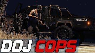 Dept. of Justice Cops #751 - Sidewalk Hunter