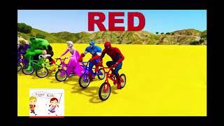 Người Nhện đua xe -Color- Red