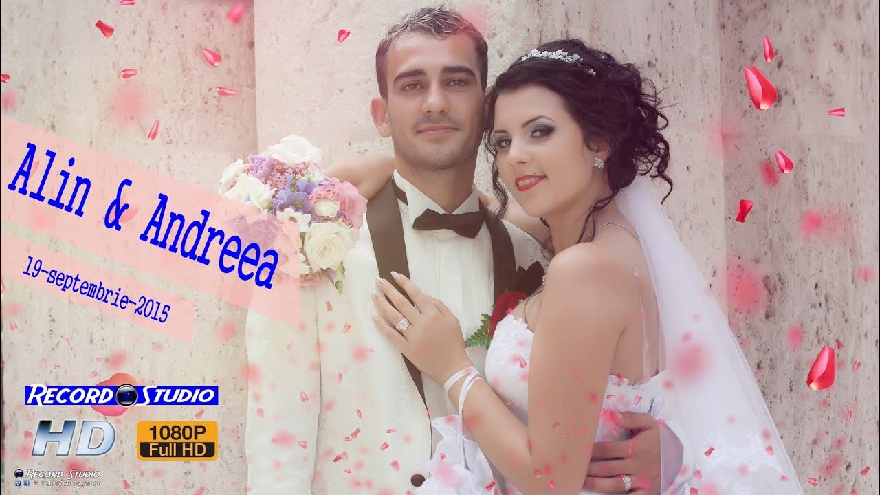 Clip Nunta Alin & Andreea - Rovinari 19-09-2015 [ RECORD STUDIO ]