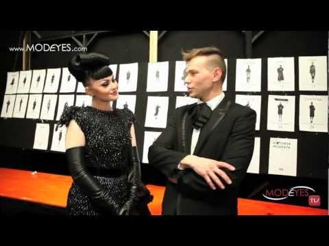 SERGEI GRINKO F/W 2013 FASHION SHOW WITH VIKTORIA MODESTA (HD)