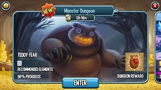 Teddy Fear For FREE Monster Dungeon - Monster Legends