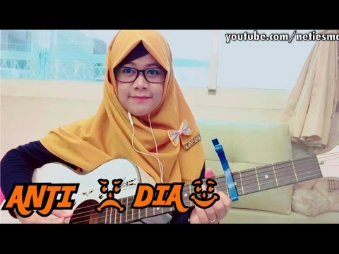 ANJI - DIA (Cover Gitar) Cord&Lirik LAGU PALING HITS 2016