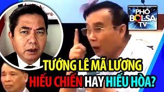 """Dọa """"hỏi thăm"""" Bộ Ngoại Giao: Tướng Lê Mã Lương hiếu chiến hay hiếu hòa?"""