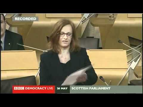 Joan McAlpine's maiden speech to the Scottish Parliament, 26 May 2011