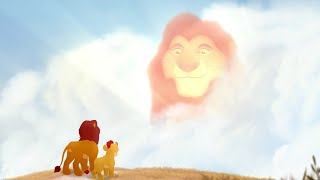 Simba and Kion talk with Mufasa about Scar