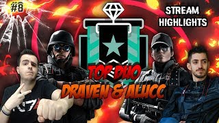 DRAVEN & ALUCC IL TOP DUO DI RAINBOW SIX!! w/Alucc, UAGNA Ryuk, R6IC, R6SIT | STREAMING HIGHLIGHTS
