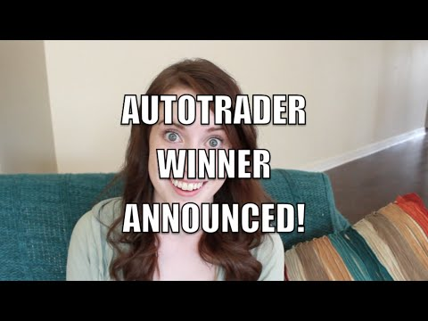 AutoTrader Winner Announced!