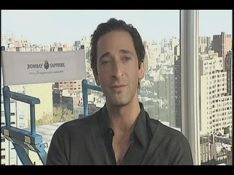 Adrien Brody supports aspiring film-makers