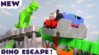 Thomas & Friends Trackmaster Dino Escape Dinosaur Toy Train Story with the funny Funlings TT4U
