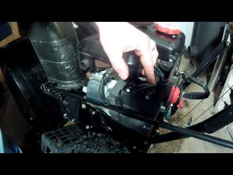 MTD Powermore engine - Replacing the carburetor - Part 2