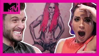 Will This 'Challenge' Couple Survive This Giant Tattoo? | How Far Is Tattoo Far? | MTV