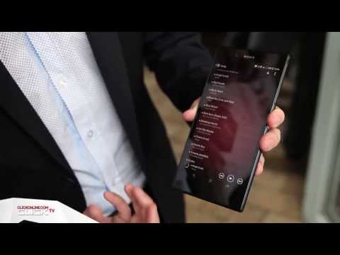 Sony Xperia Z Ultra Hands On and Interview