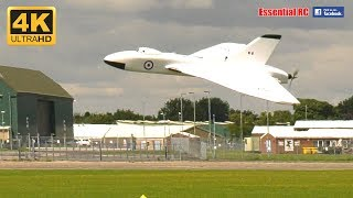 RC Electric AVRO VULCAN bomber jet built from RCM&E plan [*UltraHD and 4K*]