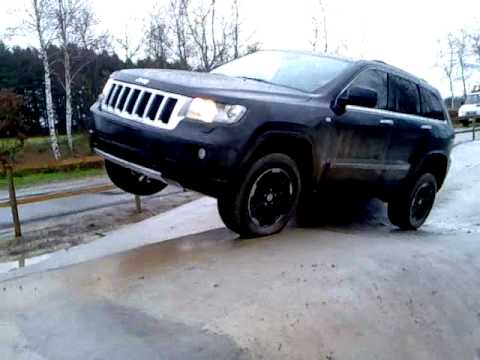 Jeep Grand Cherokee 2011 - Quadra Trac II / Quadra Lift test