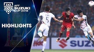 Nhẹ nhàng vượt qua Campuchia, ĐT Việt Nam chính thức giành ngôi đầu bảng A | VFF Channel