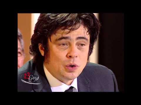 Benicio del Toro gana el Goya a Mejor Actor Protagonista en 2009