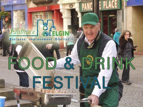 Footage from the City of Elgin Food & Drink Festival 2013 Filmed & Edited by: Martin K. Smith - http://twitter.com/martinksmith Elgin BID: http://twitter.com...