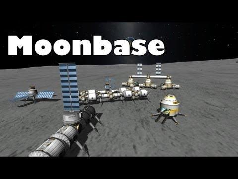 Kerbal Space Program - Moonbase completed