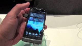 Sony Ericsson Xperia S Comentarios y especificaciones CES 2012