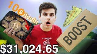 DESCHID UN MYSTERY BOX DE 25 000$ (am primit BITCOIN)